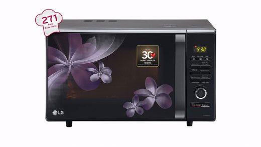 LG 29 Ltr Convection Microwave Oven, MC2886BPUM – Khosla Electronics