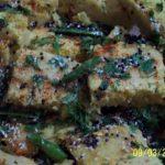 Nylon Khaman-Microwave Recipe | My Aromatic Kitchen