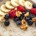 Vegan Microwave Oatmeal