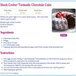 tupperware chocolate cake recipe microwave – Microwave Recipes