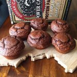 CHOCOLATE PEANUT BUTTER POWER MUFFINS – No Excuses Nutrition | Recipe |  Kodiak cakes recipe, Healthy sweets, Power muffins