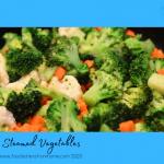 Steamed Healthy Vegetables Healthy, Fibre Rich Veggies - microwave