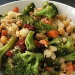 Mediterranean Chickpea and Broccoli Bake – The Strength Vibe