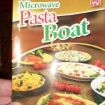 Crafter's Anonymous Club: Microwave Pasta Boat Review