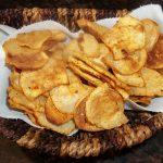 Crispy Baked Turnip Chips   Kari Eats Plants