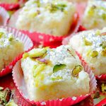 Kalakand Recipe   How To Make Kalakand   Indian Milk Cake - Aromatic Essence
