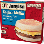 Sausage Egg and Cheese Muffin Breakfast Sandwich | Jimmy Dean® Brand