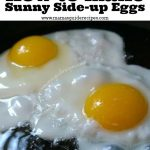 How To Microwave Sunny Side Up Eggs