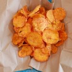 Microwave Sweet Potato Chips (Microwave Snacks) - Gemma's Bigger Bolder  Baking