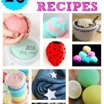 20 Awesome Homemade Playdough Recipes