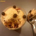 Microwave mug cake – Blueberry and chocolate – Suvai Manam
