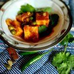 Kadhai Matar Paneer (Paneer and Green Peas)- A Microwave recipe