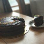 Eggless Chocolate Cake – Gracious Goodie
