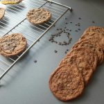 Flat Chewy Chocolate chip cookies – Suvai Manam