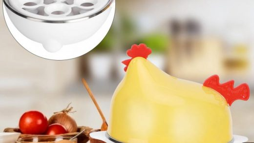 Stainless Steel Egg Boiler Soft and Hard Poached Egg Maker for Soft-boiled  Eggs/Cooked Eggs/Poached Eggs/Omelet Ultimate Kitchen Gadget 3 Caves Egg  Poacher Boiled Egg Steamer Egg Cooker Specialty Cookware Kitchen & Dining