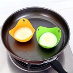 Random Color 4 Pack Silicone Egg Poaching Cups Egg Poacher Pan Poached  Baking Cup Microwave Egg Poacher Kitchen Cookware Tools Egg Poachers Home &  Kitchen
