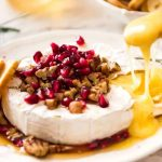 3 Minute Melty Festive Brie (Baked Brie)   RecipeTin Eats
