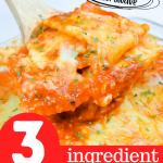 3-Ingredient Lazy Man Lasagna in the Microwave | Just Microwave It