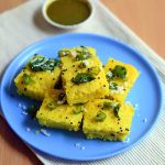 Microwave Dhokla Recipe – How To Make Easy,Instant Khaman Dhokla | Chitra's  Food Book