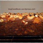 Eggless Healthy Dry Fruits & Nuts Cake - VegCookBook by Praveena