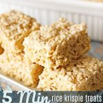 These Microwave Rice Krispie Treats are foolproof and turn out perfect  every time. They … | Microwave rice krispie treats, Krispie treats, Rice  krispy treats recipe