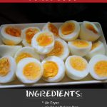 Recipe This   Air Fryer Hard Boiled Eggs   Recipe   Air fryer recipes, Air  fryer recipes healthy, Recipes