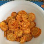 Microwave Sweet Potato Chips Recipe | Allrecipes