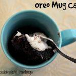 4 ingredients 2 minutes Oreo Mug Cake   Mug recipes, Mug cake microwave,  Savoury cake