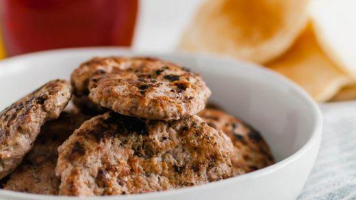 Turkey Sausage Breakfast Sandwich - Meg's Everyday Indulgence