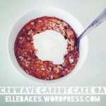 Microwave Carrot Cake Oatmeal – vegan, gluten-free, dairy-free, corn-free,  refined sugar-free | Corn free, Carrot cake oatmeal, Dairy free