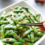 5-Minute Asian Sugar Snap Peas - Two Healthy Kitchens