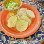 Secret Recipe Club, No Guilt Microwave Potato Chips | The Painted Apron