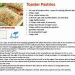 Pin by Pamela Morrow on Tupperware | Tupperware recipes, Toaster pastry,  Tupperware