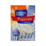 American Garden Microwave Popcorn Natural Light – 240 gm – Unified Products  General Trading LLC