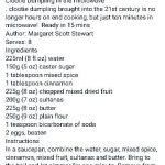 Microwave Clootie Dumpling | Scottish recipes, Clootie dumpling, Dumpling  recipe