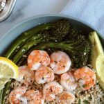 6 Ingredient Sheet Pan Shrimp Dinner - Cheerful Choices Food and Nutrition  Blog