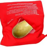 Microwave Potato Bag Washable Reusable Potato Cooking Bags Oven Steam Corn  Sweet Potato Cooker Baker Potato Express Pouch Just in 4 Minutes -Red:  Amazon.co.uk: Kitchen & Home