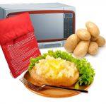 Storage & Organization 4 Pack of Microwave Potato Bag,Baked Potato  Microwave Baking Bag,Potato Express Pouch Cooker Microwave Potato Cooker  Bag,Red Home flexigraf.com