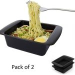 Microwave Instant Ramen Noodles in 3 Minutes 2 Pack Microwave Ramen Cooker  BPA Free and Dishwasher Safe absolutebeauty.co.za