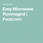 Easy Microwave Rommegrot   Recipe   Rommegrot recipe, Swedish recipes,  Norwegian food