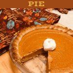 Keto Low Carb Pumpkin Pie - The Lazy K Kitchen - Sugar Free