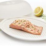 KitchenCraft KCMFISH Microwave Fish Steamer, White: Amazon.co.uk: Kitchen &  Home