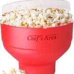 Silicone Microwave Popcorn Popper / Popcorn Maker, Red Collapsible Popcorn  Bowl with lid for home – BPA free – for Healthy Homemade Butter & Oil-Free  Recipes – Royal Collection Tools