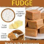Easy Microwave Peanut Butter Fudge (3 Ingredients!) | Recipe | Microwave  peanut butter fudge, Peanut butter fudge recipe, Peanut butter fudge easy