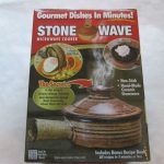 STONE WAVE STONEWARE MICROWAVE COOKER GOURMET DISHES IN MINUTES! FREE  SHIPPING   Microwave cooker, Gourmet, Cooker