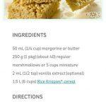 Classic Kellog's Rice Krispie Square Recipe (microwave) crispy krispy  yum si.…   Homemade rice krispies treats, Rice krispy treats recipe, Krispie  treats recipe