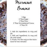 How To Make A Brownie In A Mug — Elephant On The Road | Mug brownie recipes,  Mug recipes, Brownie in a mug