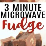 Here is the best microwave fudge recipe. This easy 3 ingredient fudge is so  easy. Learn how to make fudge in t… | Fudge recipes easy, Microwave fudge, Fudge  recipes