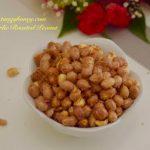 Quick Garlic Roasted Peanut | Microwave Recipe | Tangy Honey!