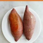 Easiest Microwave Sweet Potato Recipe   Recipe in 2020   Microwave sweet  potato, Sweet potato recipes, Cooking sweet potatoes